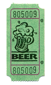 Beer Festival Ticket