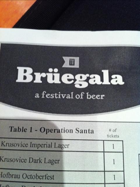 Bruegala beer festival in central Illinois