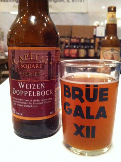 Capital Brewing Weizen Doppelbock